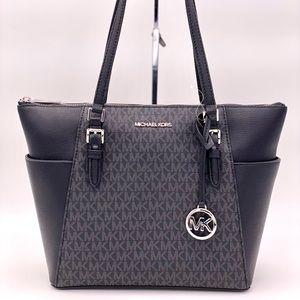 Michael Kors Charlotte Tote Shoulder Bag
